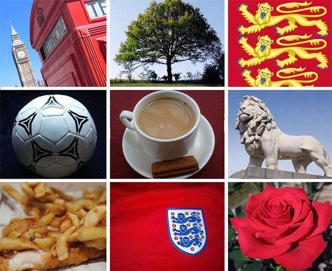 The_symbols_of_England
